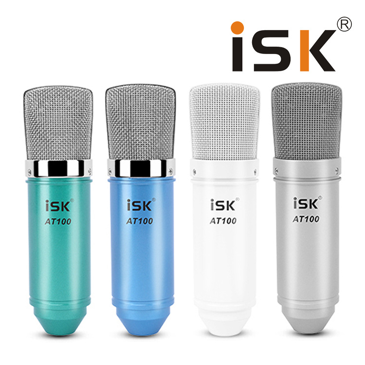 Micro thu âm ISK AT100 Hoa Vinh hát có phải là micro cao cấp?