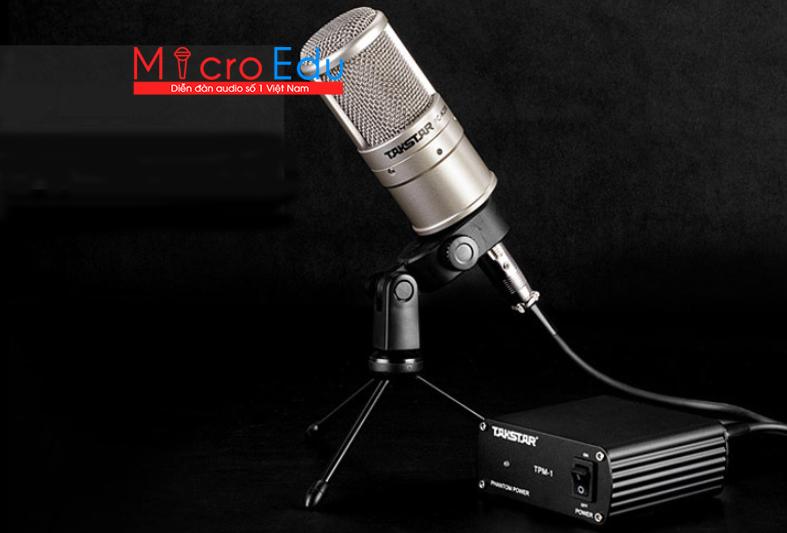 Micro thu âm Takstar PC-K200 có CHUẨN đẳng cấp như mong đợi