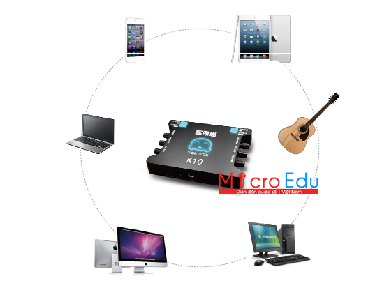 Sound card XOX K10 hát live stream, có đáng để mong đợi hiện nay?