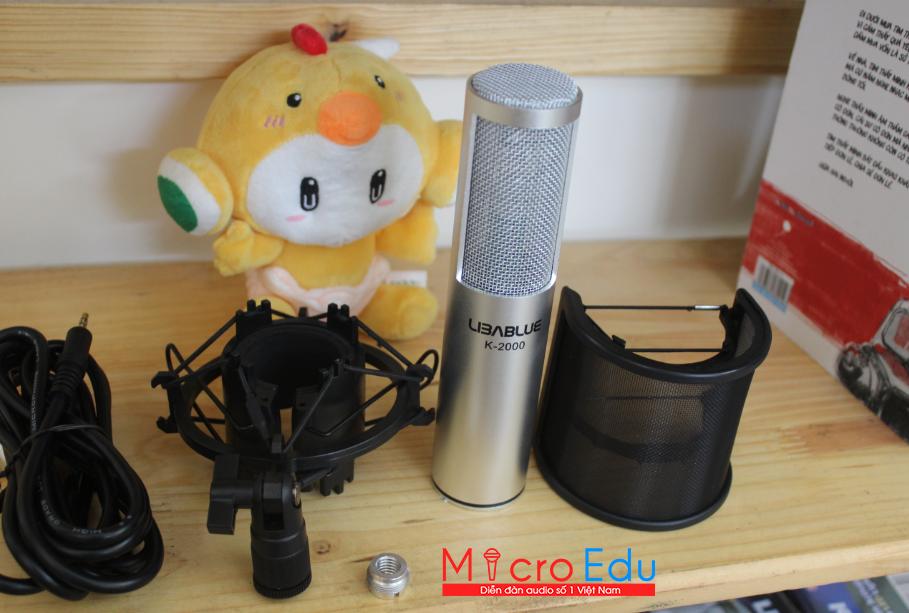 Micro thu âm Libablue K-2000 giá sinh viên chất thương gia