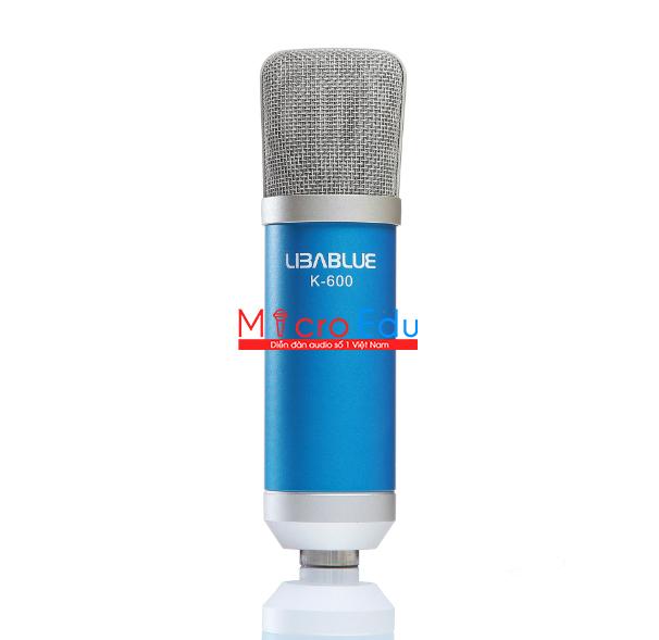 Micro thu âm Libablue LD-K600 hát live stream có thanh thót?