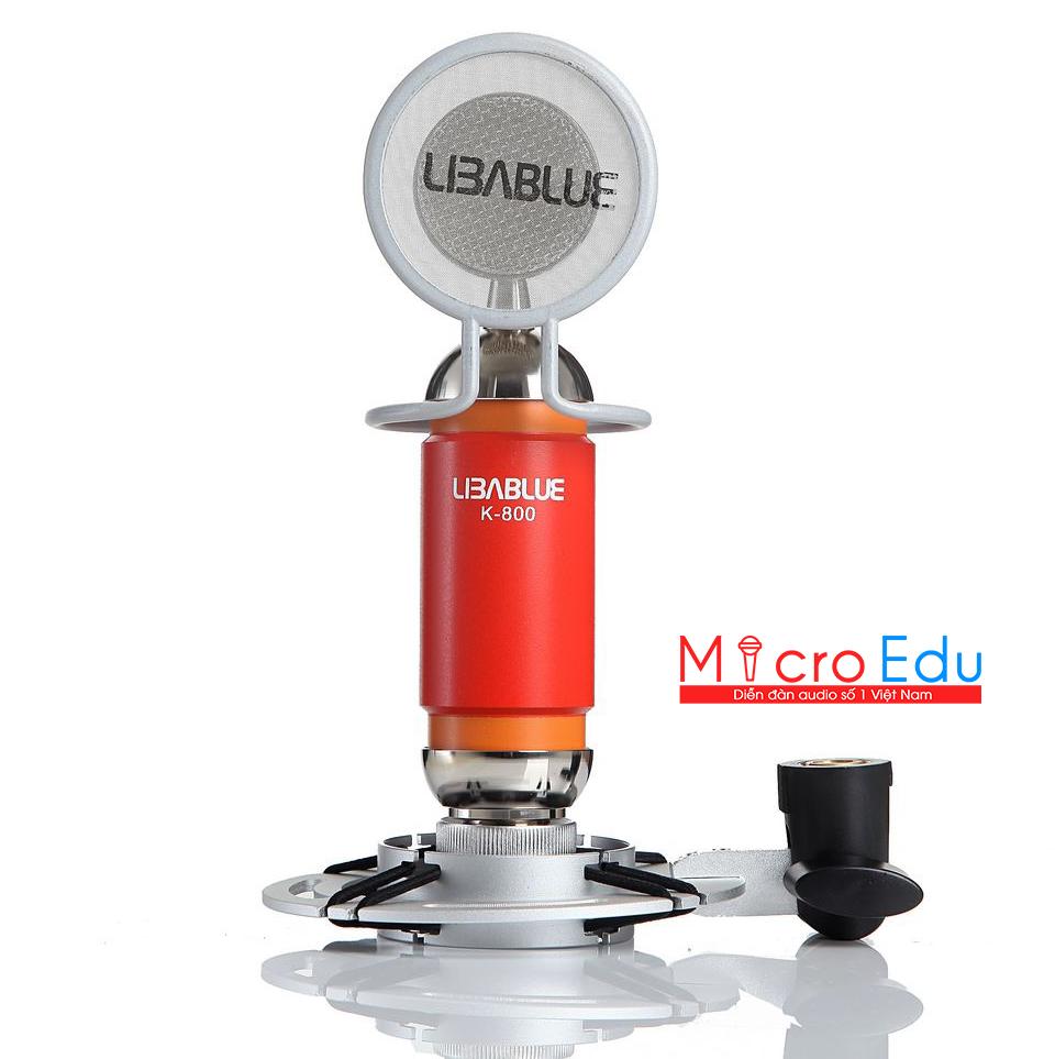Micro thu âm Libablue LD-K800 âm thanh có đỉnh như Vanh Leg?