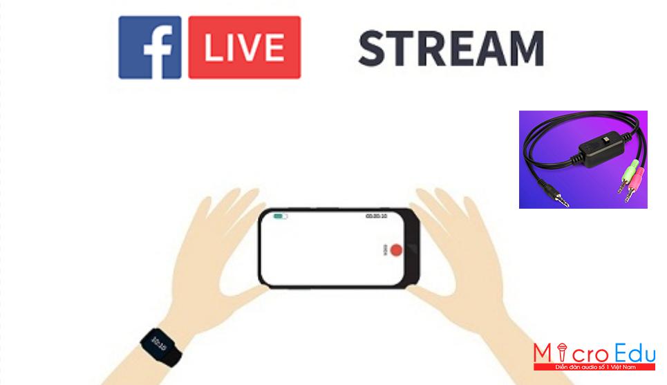 Dây live stream XOX MA2 là phụ kiện lấy nhạc live stream chất