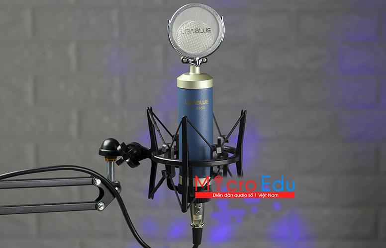 Micro thu âm Libablue LD K950 có thua kém anh sinh đôi K900?