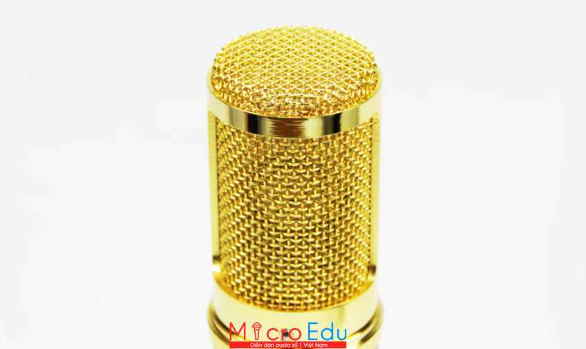 Micro thu âm TIANYUN T-5000 có nổi bật trong chiếc hộp bạc tinh tế?