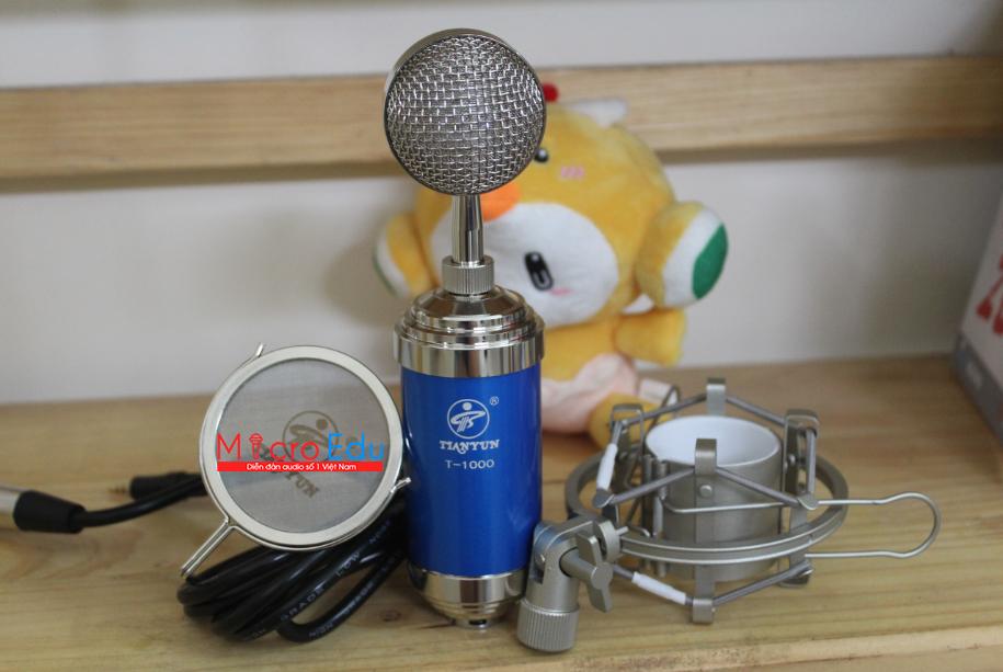 Micro thu âm TIANYUN T1000 có HOT như nắng trời Hà Nội?