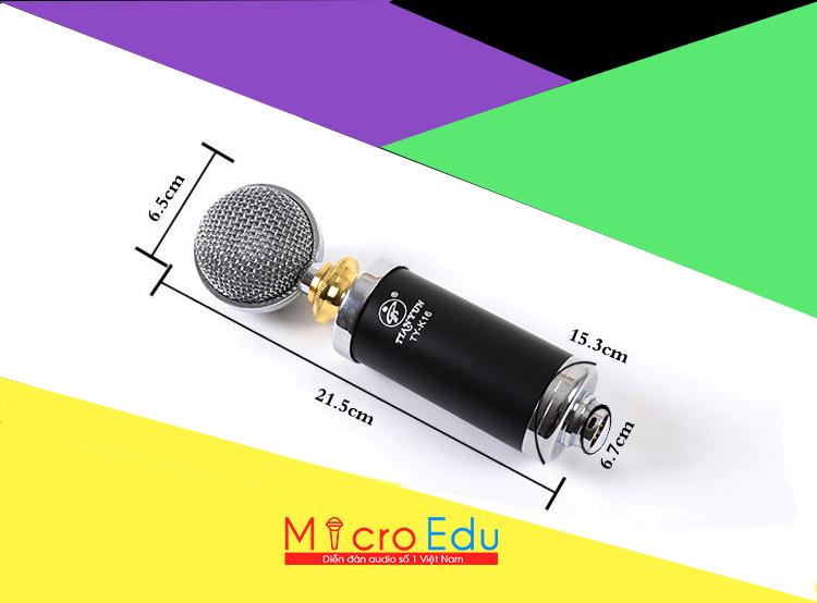 Micro thu âm TIANYUN TY K16 có nổi bật trong cùng phân khúc?