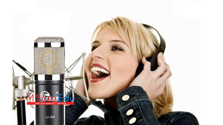 Micro thu âm YOGMEDI U-55 giá rẻ có được chất như nước cất?