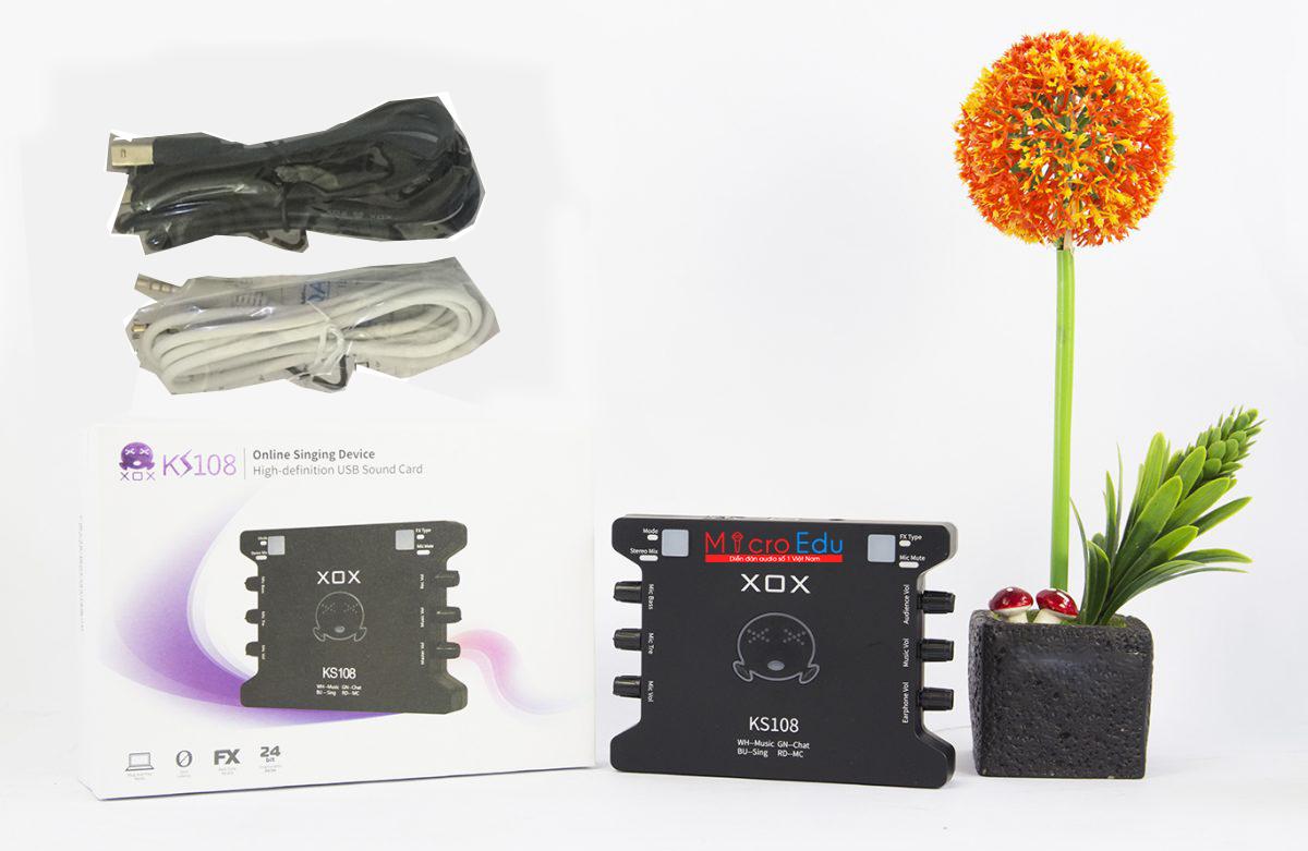Sound card XOX KS108 phiên bản đặc biệt của đàn anh XOX K10