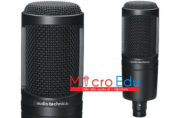 Micro thu âm Audio Technica AT2020 công nghệ Nhật Bản Vip