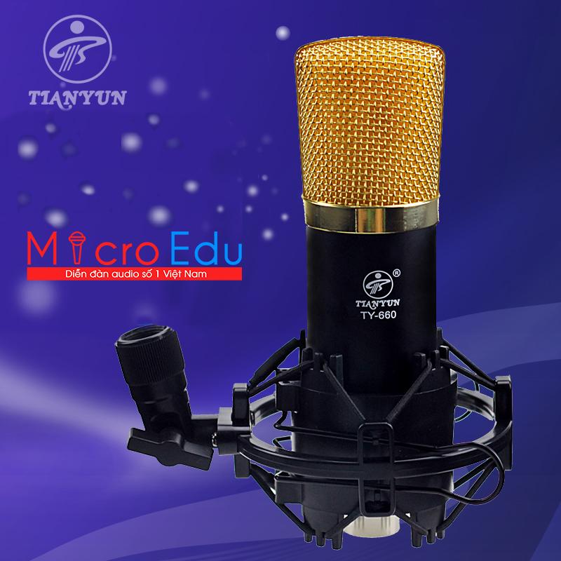 Micro Thu Âm Tianyun TY-660 Chất Âm Có Vượt Qua Sự Mong Đợi