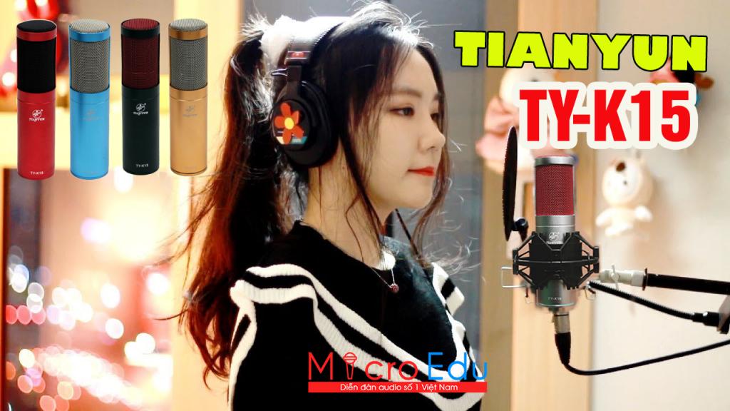 Micro Thu Âm Tianyun TY K15 cao cấp, chất lượng, chuyên nghiệp