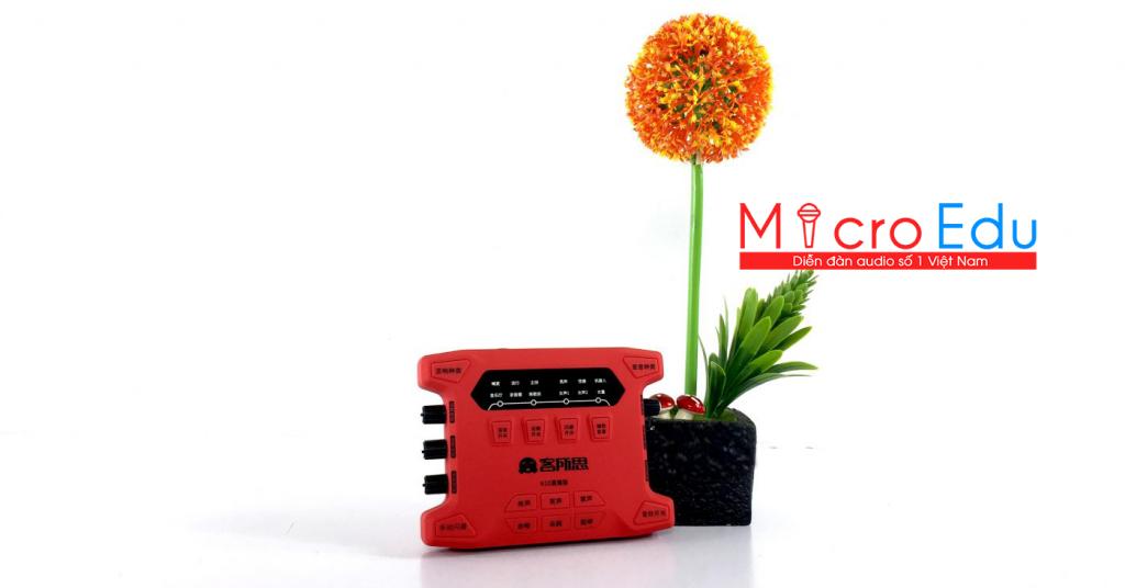 Sound Card XOX K10 Plus Bản Nâng Cấp Mới Nhất Từ KS108 Và K10 Cũ
